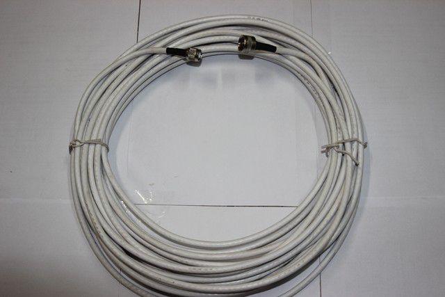 Cabo Coaxial Rg6 Com Conector N/TNC 15 Met