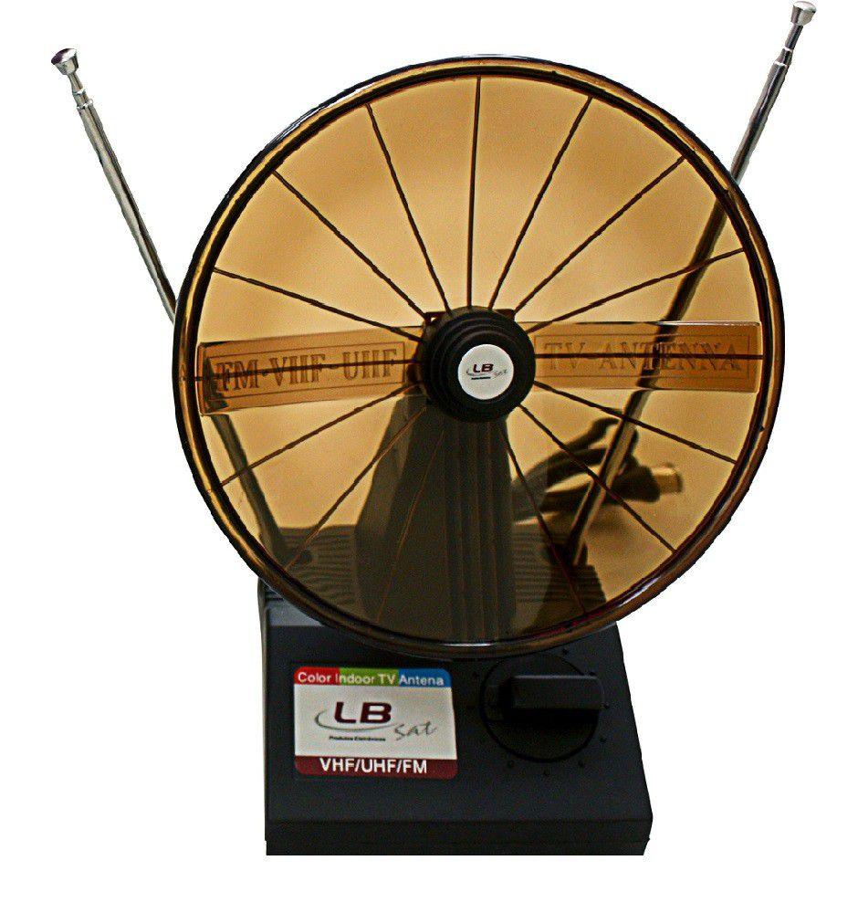 Color Indoor Tv Antena Uhf/Vhf/Fm