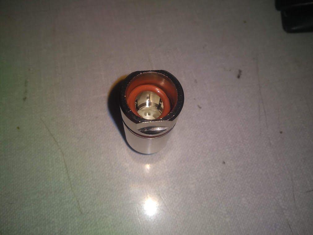 Conector Coaxial Tipo N Macho P/ Cabo Corrugado 1/2