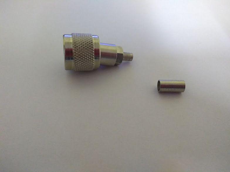Conector UHF Macho Crimp RG-58