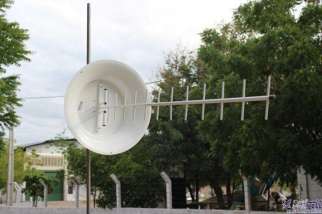 Kit Antena Cúbica 24DBi 850MHz