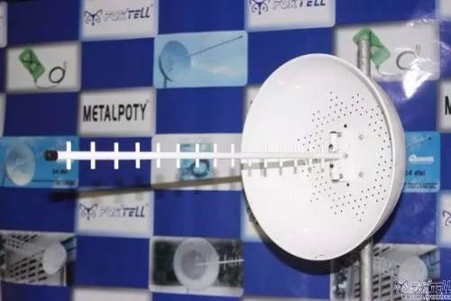 Kit Antena Cúbica De 24 Dbi 4G 1800 A 2600 Mhz