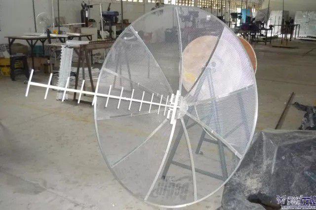 KIT ANTENA PARÁBOLA DE ALTO GANHO 35 dBi 850 - 900 - 1800/2100 Mhz