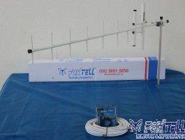 Kit Antena Para Celular Rural 15dbi 900mhz