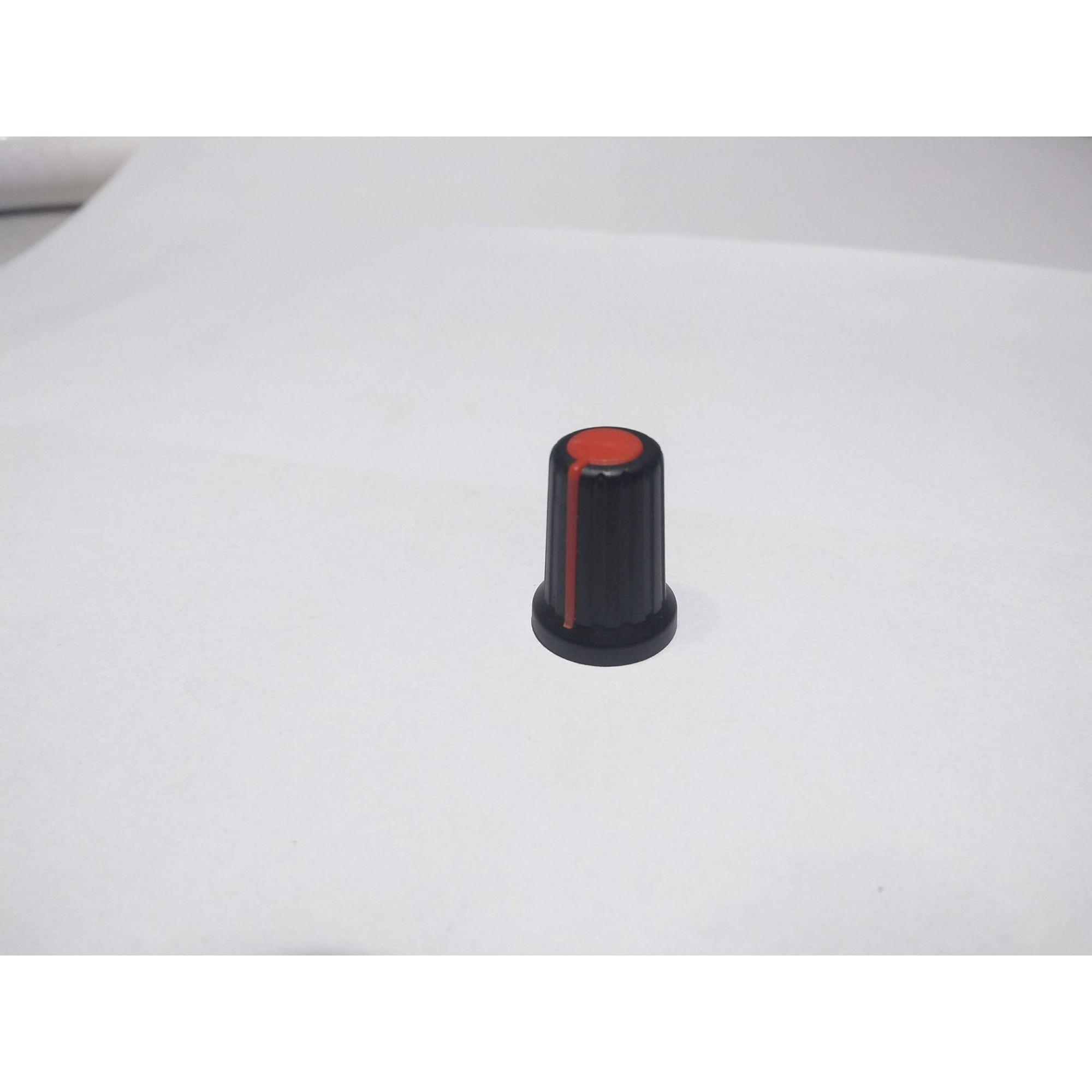 Knob para potenciômetro Vermelho