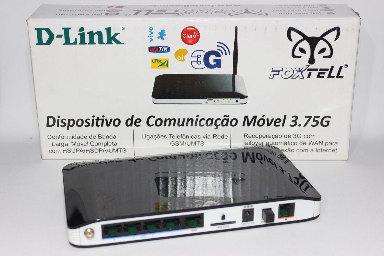 Roteador 3g Dlink Dwr512  ( 03 Unidades )