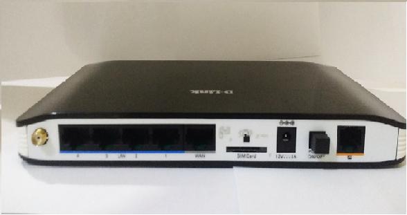 Roteador 3g Dlink Dwr512 (wifi) Com Saida Para Antena Rural