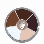 Cream Color circle 6 cores Old Age Kryolan 30gr