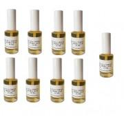 kit 9 Colas Spirit Gum verniz p/ laces e perucas c/ aplicador