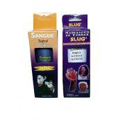 Kit slug queimadura magica + Sangue arficial comestivel 120 ml
