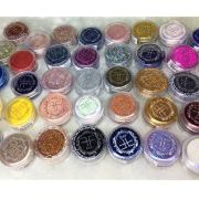 Sombra Glitter Fand Make up