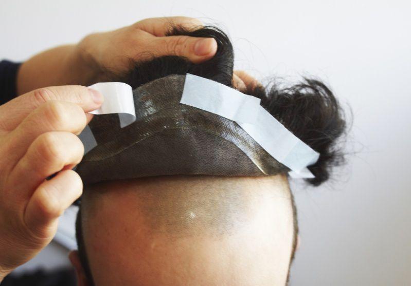 Adesivo para colar peruca e lance front  35 un curvado