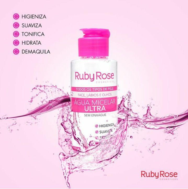 Água Micelar Ruby Rose
