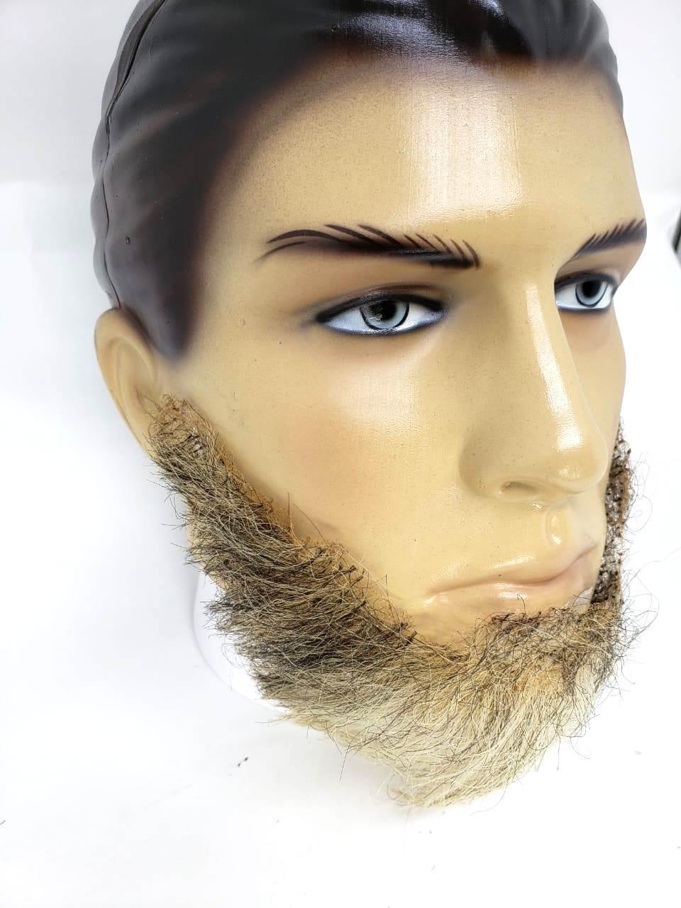 Barba falsa grisalha