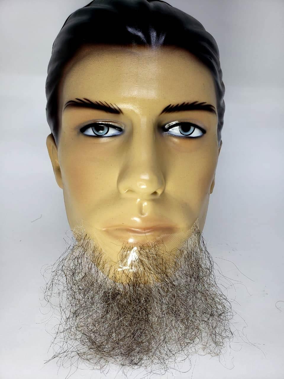 Barba falsa grisalha tipo cavanhaque