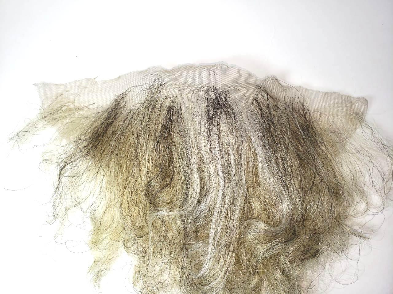 Bigode falso + barba gisalhos