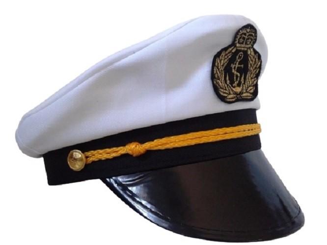 Boina Chapéu Quepe Marinheiro Cosplay Fantasia Festa