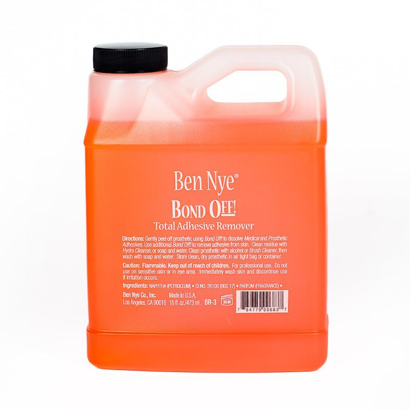 Bond Off Ben nye 473 ml Removedor de adesivos