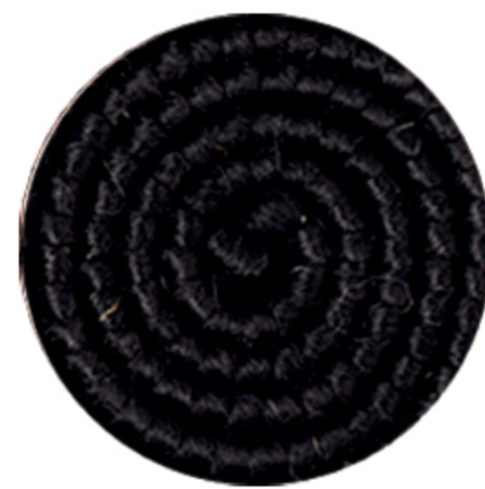 Cabelo crepe de lã para bigodes falsos e Pêlos faciais Preto