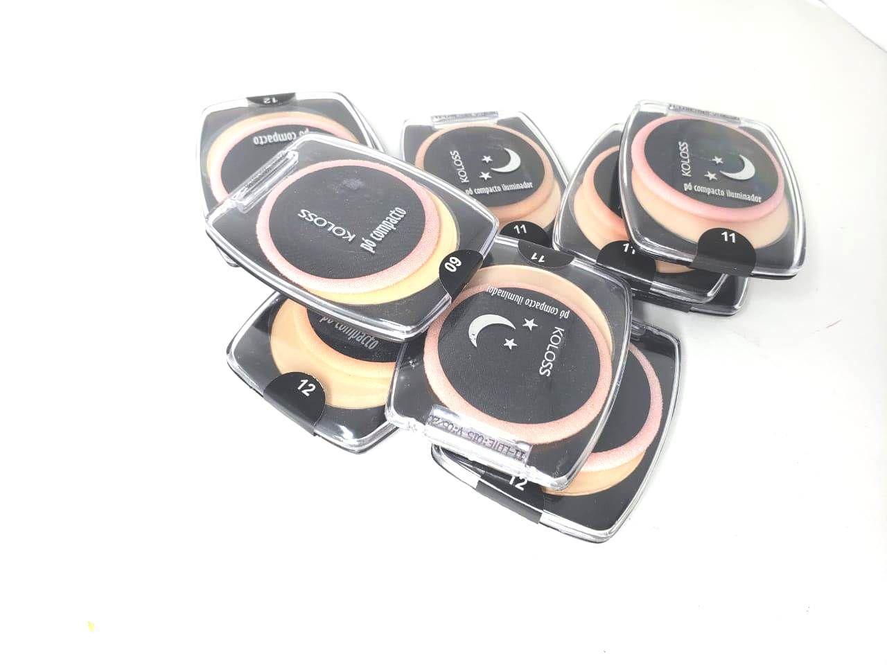 Caixa Pó compacto koloss cor 07 c/ 10 un -preço de custo