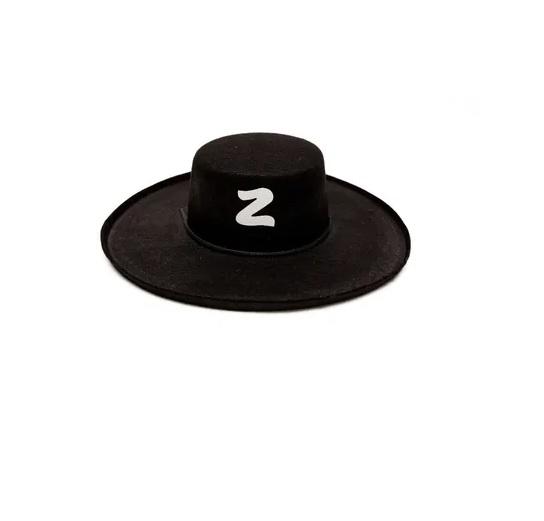 Chapéu do Zorro Preto  Cosplay  Fantasia Festa