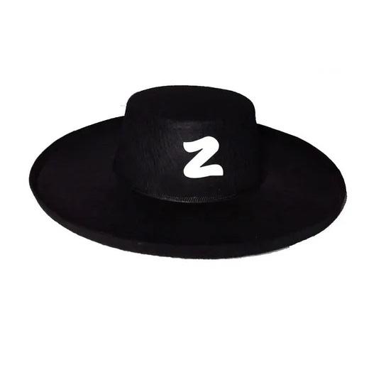 Chapéu e Máscara do Zorro Festa e Cosplay
