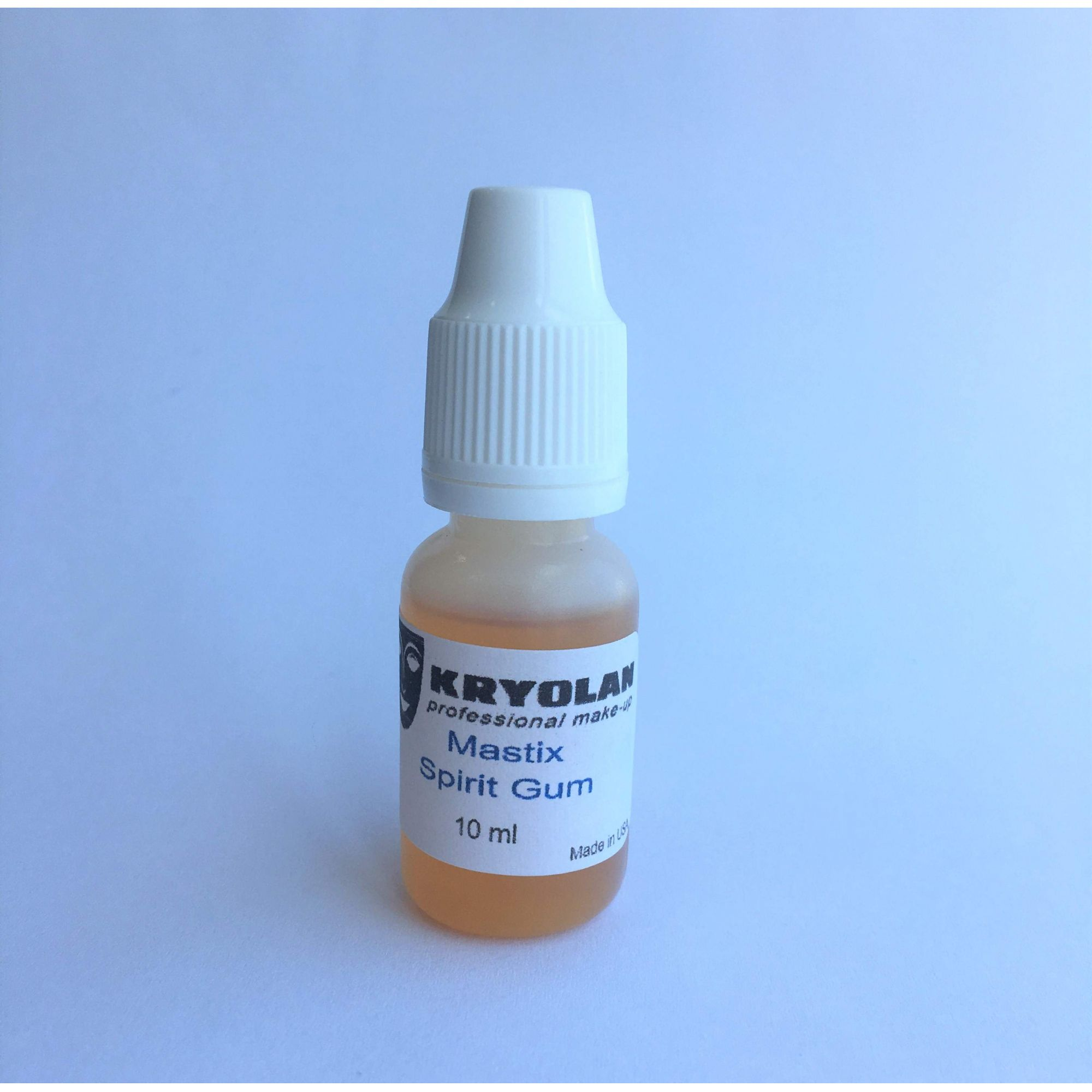Cola Spirit Gum (verniz) Kryolan 10ml p/ postiços e lances