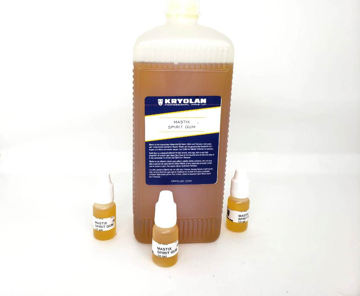 Cola Spirit Gum (verniz) Kryolan 10ml p/ postiços e lances original