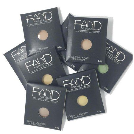 Corretivo Camuflagem Fand Make up cor:FC03