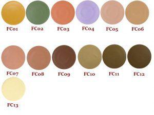Corretivo Camuflagem Fand Make up cor:FC10