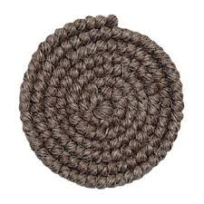 Crepe Hair cabelo- Cabelo crepe de lã para bigodes falsos e Pêlos faciais-  marrom grisalho  WH20