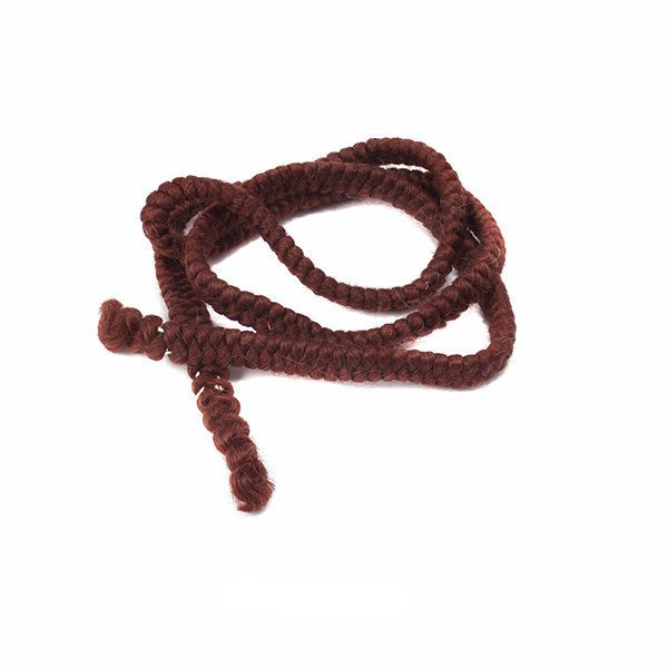 Crepe Hair -Cabelo crepe de lã para bigodes falsos e Pêlos faciais-   DK auburn
