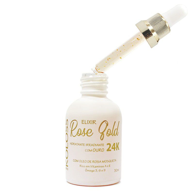 Elixir Rose Gold com ouro 24k Koloss