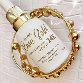 Elixir Rose Gold Ouro 24k + Magia De Unicornio Koloss