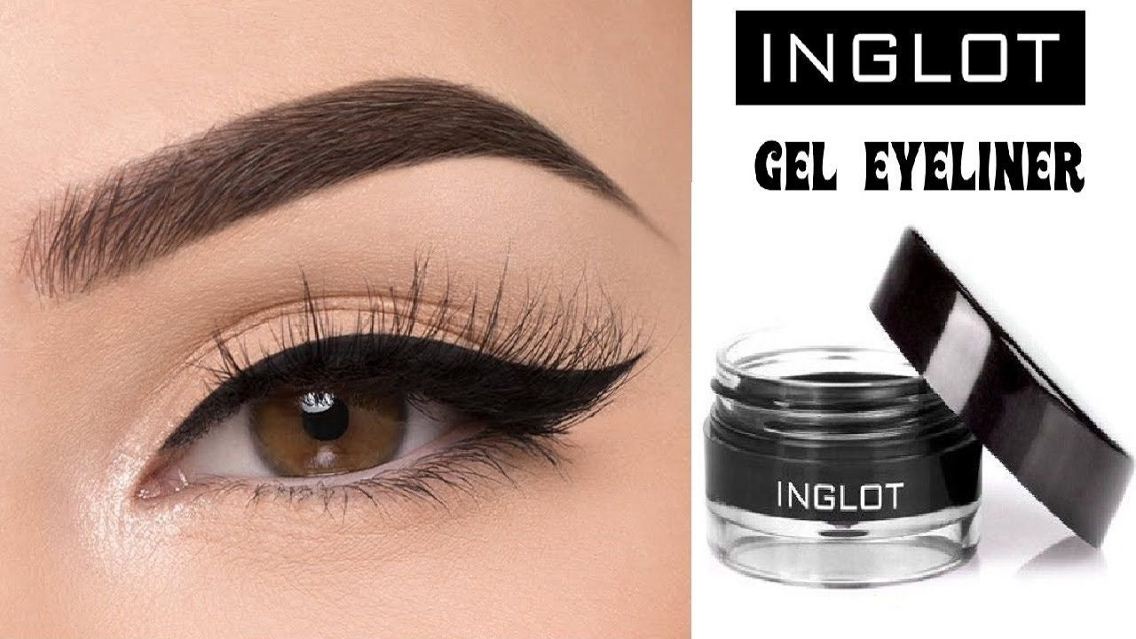 Eyeliner delineador preto inglot original