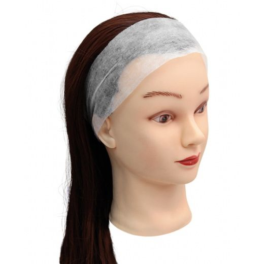 Faixa para cabelo descartavel TNT simples c/ 20 un Santa Clara