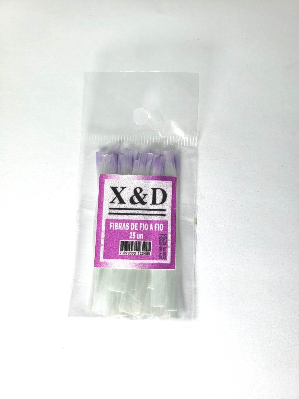 Fibra de vidro unha X&D 25 unidades
