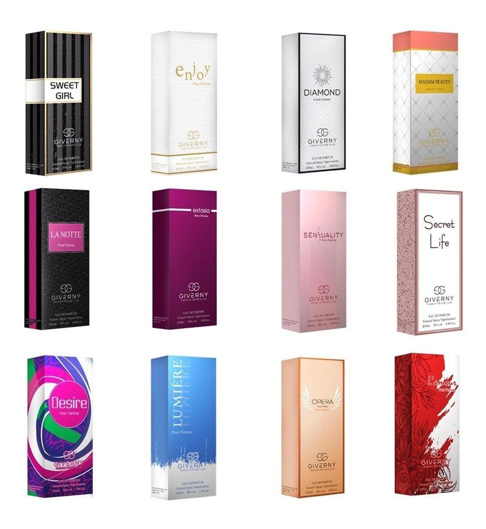 Perfume Giverny Sensuality Fragrancia feminina 30 ml
