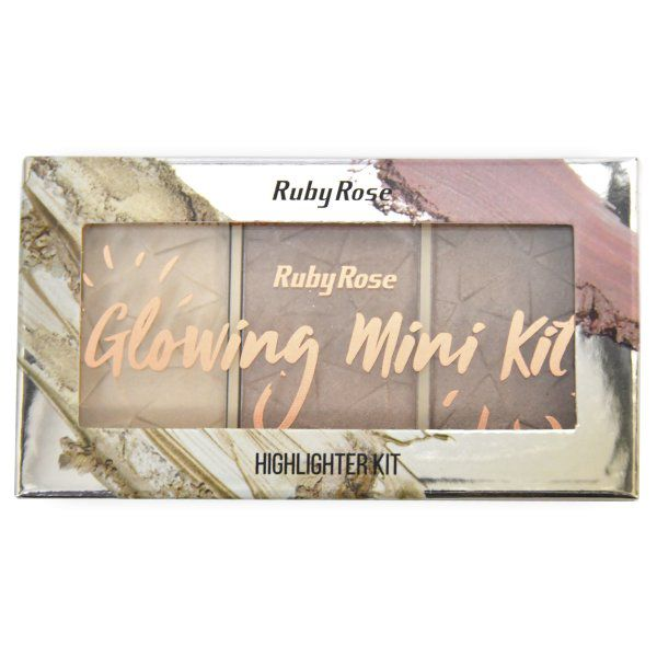 Glowing Mini Kit Ruby Rose cor 1