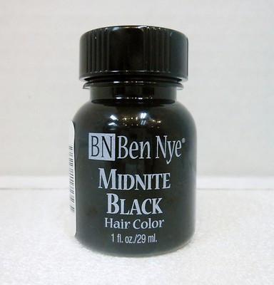 Hair Color( maquiagem para cabelo)  preto Ben Nye- 29ml