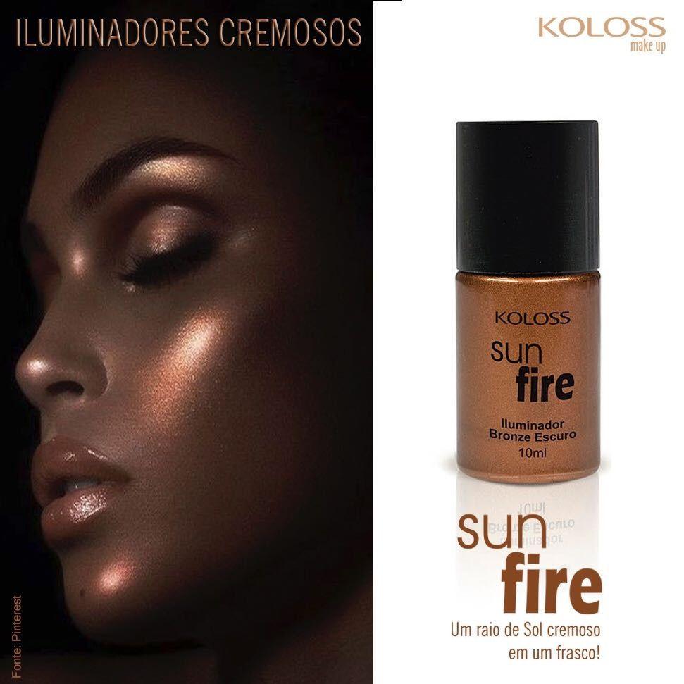 Iluminador cremoso Koloss bronze escuro