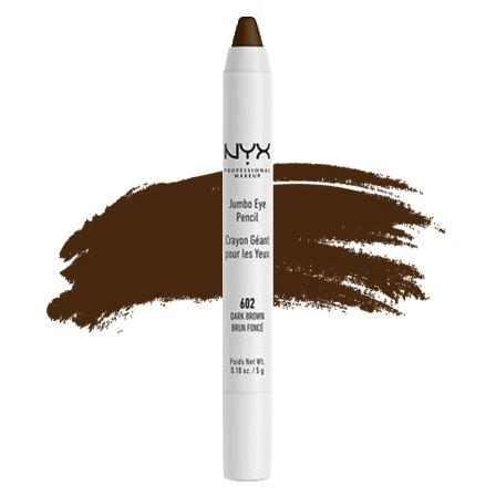 Jumbo para olhos Nyx 602 Dark Brown