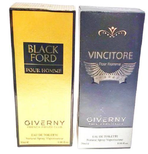Kit 10 perfumes com Fragrancia de perfume importado Giverny