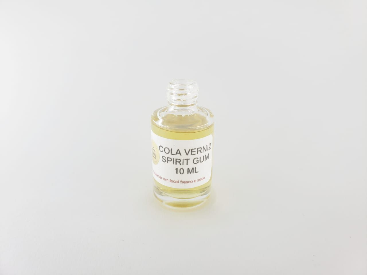 Kit 2 Colas Spirit Gum verniz 10ml para peruca, bigode e lace com aplicador