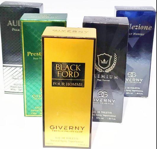 Kit 3 perfumes com Fragrancia importado Giverny