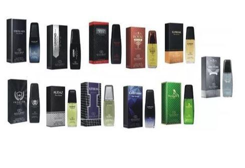Kit 50 perfumes com Fragrancia de perfume importado Giverny