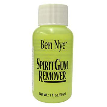 Kit Cola Spirit Gum verniz 10ml + removedor  29ml