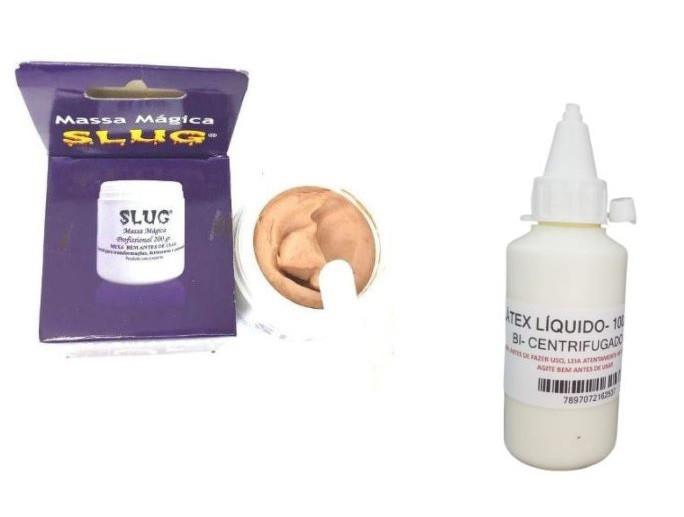 Kit completo maquiagem de terror slug