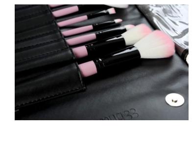 Kit de pinceis maquiagem 12 unidades bh cosmetics