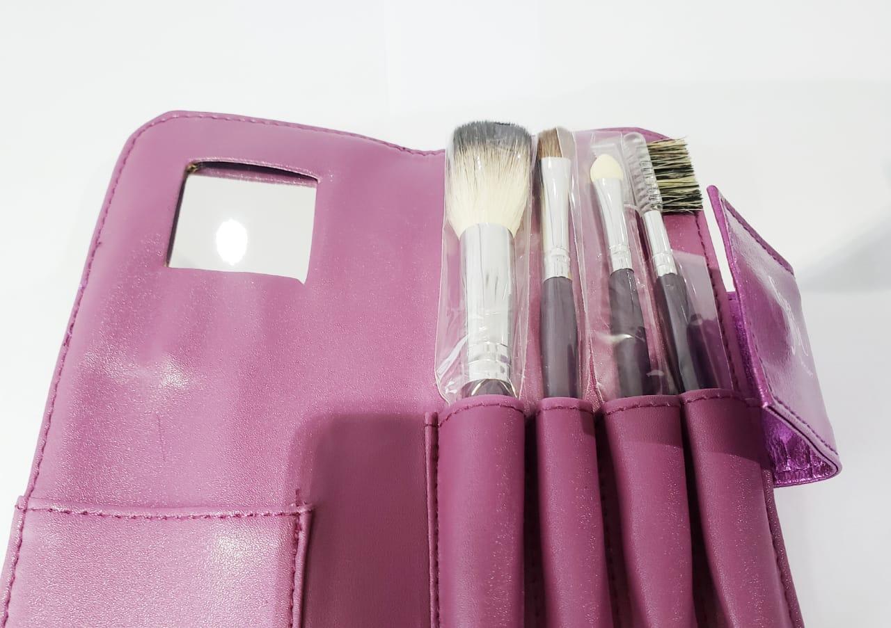 Kit de pinceis com 4 unidades com espelho proart